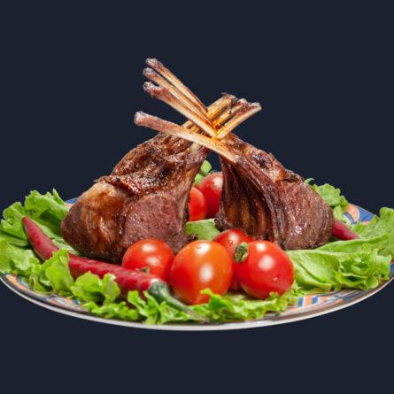 Каре ягнёнка с соусом Ханецуки 250 гр