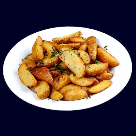 Картофель дольками по-домашнему