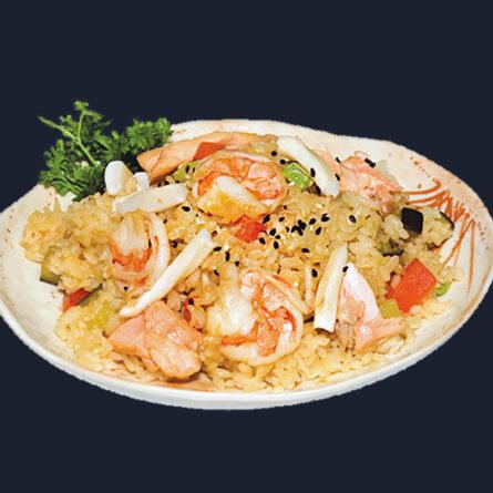 Рис с морепродуктами 250 гр