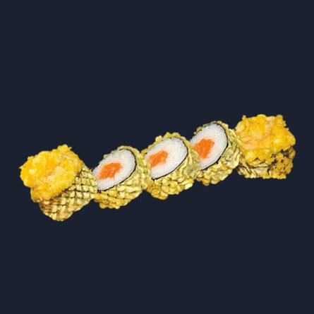 Осака тёплый ролл с лососем