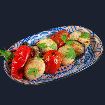 Овощи запечённые на гриле 180 гр